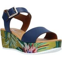 Topánky Ženy Sandále Grace Shoes 01 Modrá