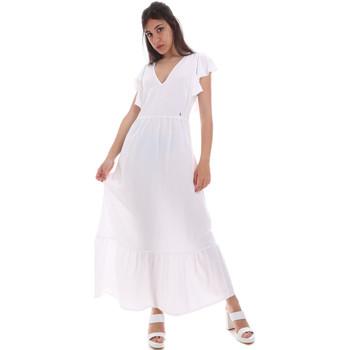 Oblečenie Ženy Dlhé šaty Gaudi 011BD15039 Biely