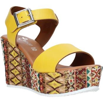 Topánky Ženy Sandále Grace Shoes 08 žltá