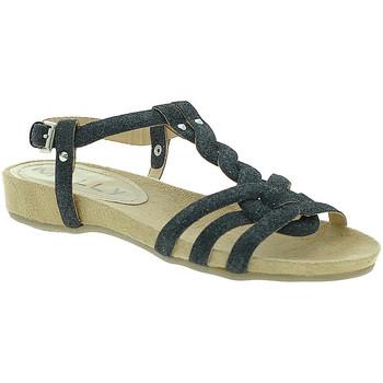 Topánky Ženy Sandále Mally 3828GL čierna