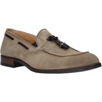 Topánky Muži Mokasíny Exton 1111 Béžová