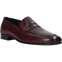 Topánky Muži Mokasíny Exton 1021 Fialový