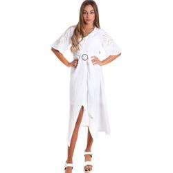 Oblečenie Ženy Dlhé šaty Fracomina FR20SM561 Biely