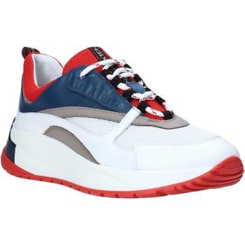 Topánky Muži Nízke tenisky Exton 291 Biely