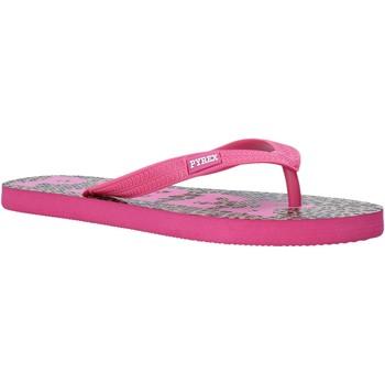 Topánky Ženy Žabky Pyrex PY020164 Ružová