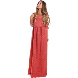 Oblečenie Ženy Dlhé šaty Fracomina FR20SM506 Červená