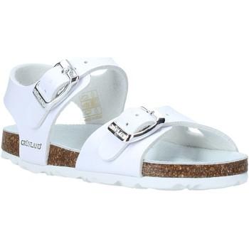 Topánky Deti Sandále Grunland SB0027 Biely
