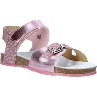 Topánky Dievčatá Sandále Grunland SB1501 Ružová