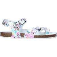 Topánky Dievčatá Sandále Grunland SB1503 Biely