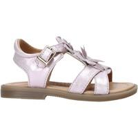 Topánky Dievčatá Sandále Grunland PS0062 Ružová