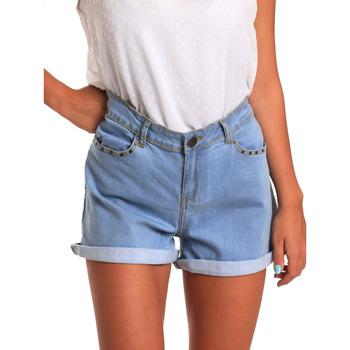 Oblečenie Ženy Šortky a bermudy Smash S1871408 Modrá