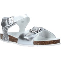 Topánky Deti Sandále Grunland SB1500 Striebro