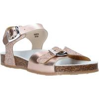 Topánky Dievčatá Sandále Grunland SB1500 Béžová