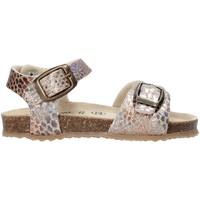 Topánky Dievčatá Sandále Grunland SB1553 Béžová