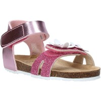 Topánky Dievčatá Sandále Grunland SB1545 Ružová