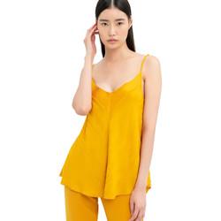 Oblečenie Ženy Blúzky Fracomina FR20SM551 žltá