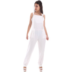 Oblečenie Ženy Módne overaly Gaudi 011BD25049 Biely