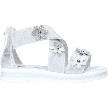 Topánky Dievčatá Sandále NeroGiardini E031604F Striebro