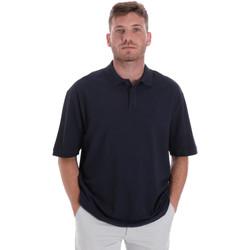 Oblečenie Muži Polokošele s krátkym rukávom Les Copains 9U9016 Modrá