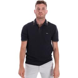 Oblečenie Muži Polokošele s krátkym rukávom Les Copains 9U9021 Modrá