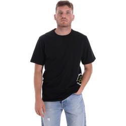 Oblečenie Muži Tričká s krátkym rukávom Converse 10018872-A03 čierna