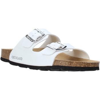 Topánky Ženy Šľapky Grunland CB1035 Biely