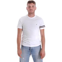 Oblečenie Muži Tričká s krátkym rukávom Les Copains 9U9014 Biely