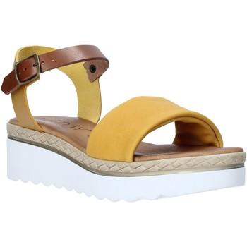 Topánky Ženy Sandále Jeiday 1278-9696 žltá