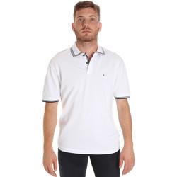 Oblečenie Muži Polokošele s krátkym rukávom Les Copains 9U9020 Biely