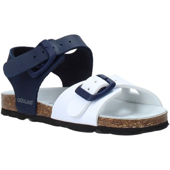 Topánky Deti Sandále Grunland SB0027 Modrá