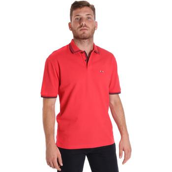 Oblečenie Muži Polokošele s krátkym rukávom Les Copains 9U9020 Červená