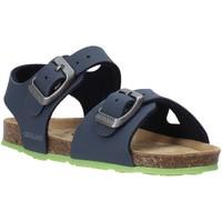 Topánky Deti Sandále Grunland SB0413 Modrá