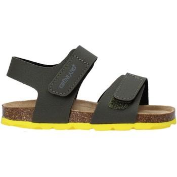 Topánky Deti Sandále Grunland SB0094 Zelená