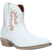 Topánky Ženy Čižmičky Mally 6629S Biely