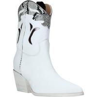 Topánky Ženy Čižmičky Mally 6918P Biely