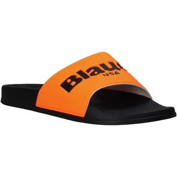 Topánky Muži športové šľapky Blauer S0BAY02/FLU Oranžová