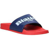 Topánky Muži športové šľapky Blauer S0BAY02/PUC Červená