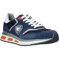 Topánky Muži Nízke tenisky Blauer S0HILO01/CAM Modrá