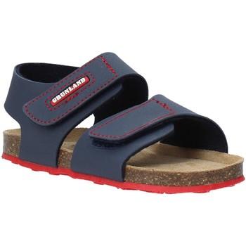 Topánky Deti Sandále Grunland SB0802 Modrá