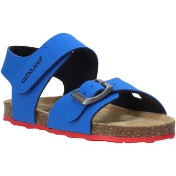 Topánky Deti Sandále Grunland SB0372 Modrá