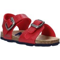 Topánky Deti Sandále Grunland SB1534 Červená