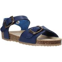 Topánky Deti Sandále Grunland SB1551 Modrá