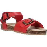 Topánky Deti Sandále Grunland SB1551 Červená