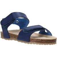 Topánky Deti Sandále Grunland SB1550 Modrá