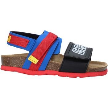 Topánky Deti Sandále Grunland SB1517 Modrá