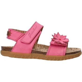 Topánky Dievčatá Sandále Grunland SB1564 Ružová