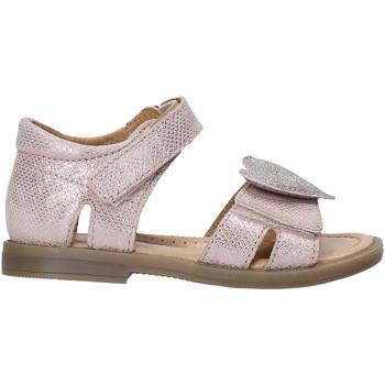 Topánky Dievčatá Sandále Grunland PS0064 Ružová
