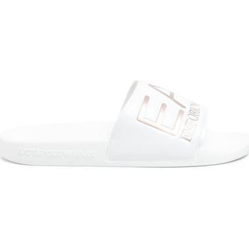 Topánky Ženy športové šľapky Ea7 Emporio Armani XCP001 XCC22 Biely