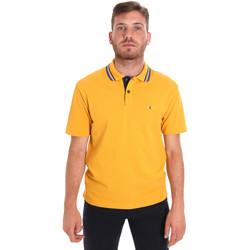 Oblečenie Muži Polokošele s krátkym rukávom Les Copains 9U9021 žltá