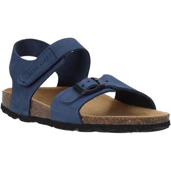 Topánky Deti Sandále Grunland SB0236 Modrá